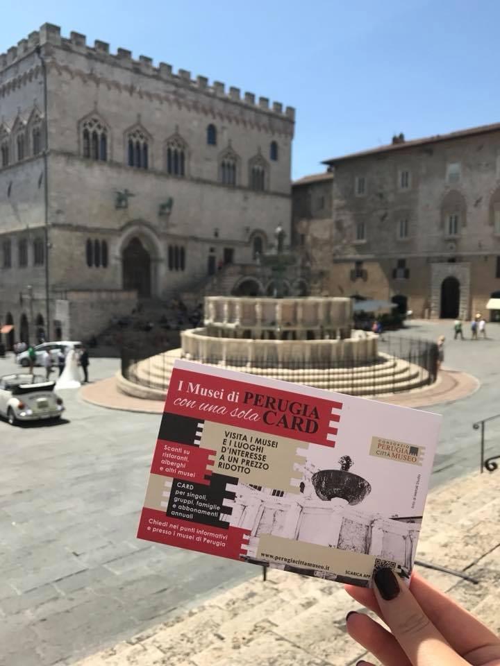 La Perugia card per l'accesso ai musei