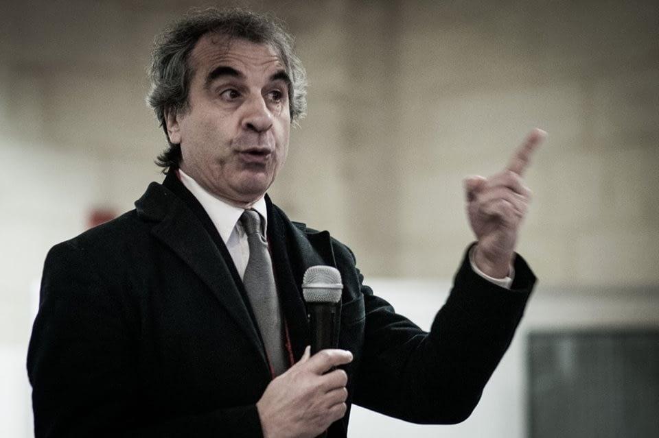 Rossano Ercolini, coordinatore del centro di ricerca sui rifiuti di Capannori